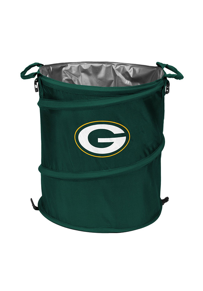 Green Bay Packers Trashcan Cooler - Image 1