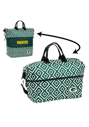 Green Bay Packers Green Expandable Lunch Tote