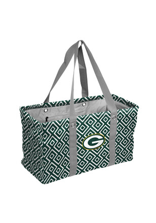 Green Bay Packers Green Picnic Caddy Lunch Tote