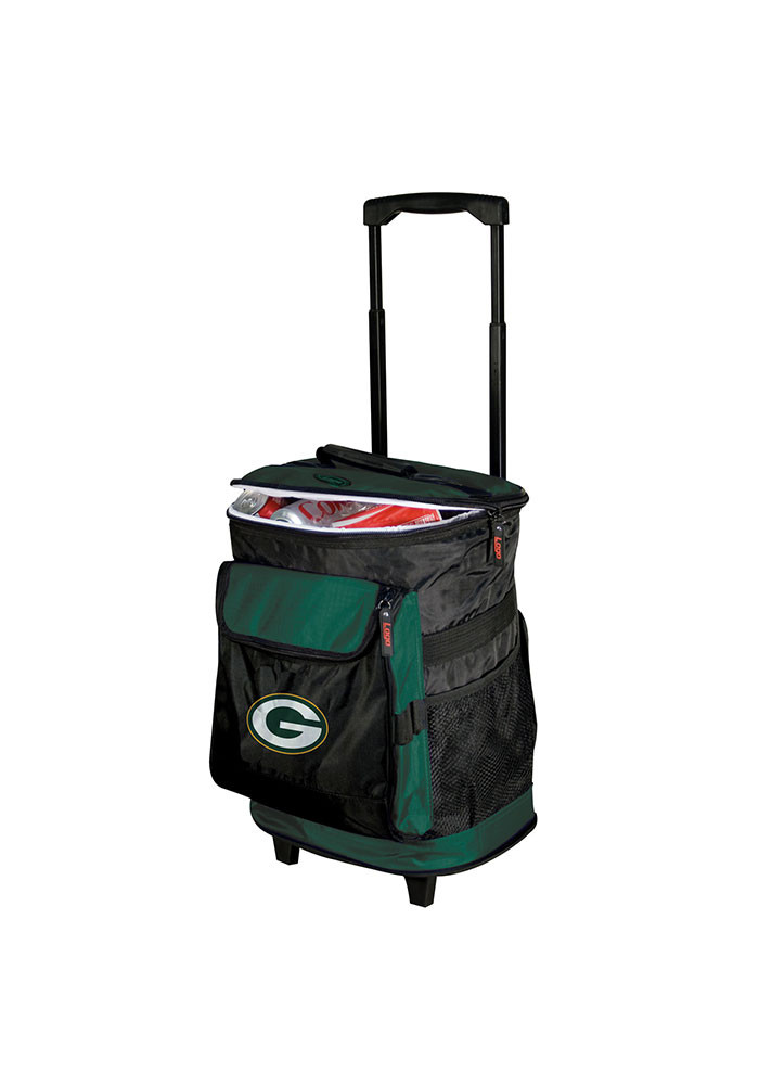 Green Bay Packers Rolling Cooler - Image 1
