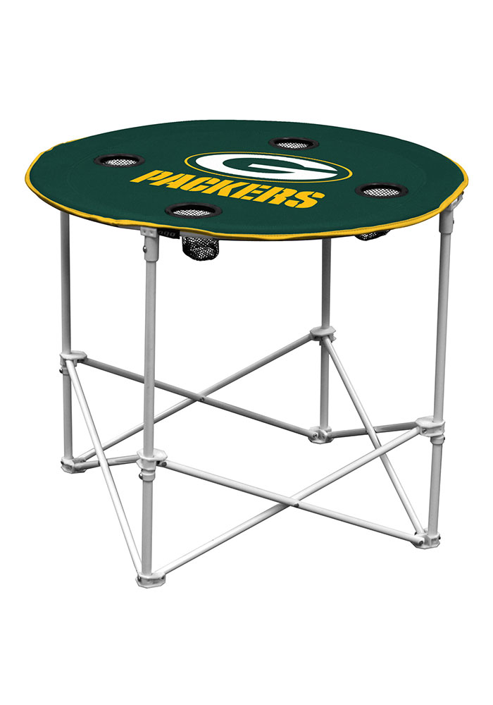 Green Bay Packers Round Tailgate Table - Image 1