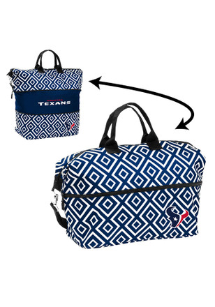 Houston Texans Blue Expandable Lunch Tote
