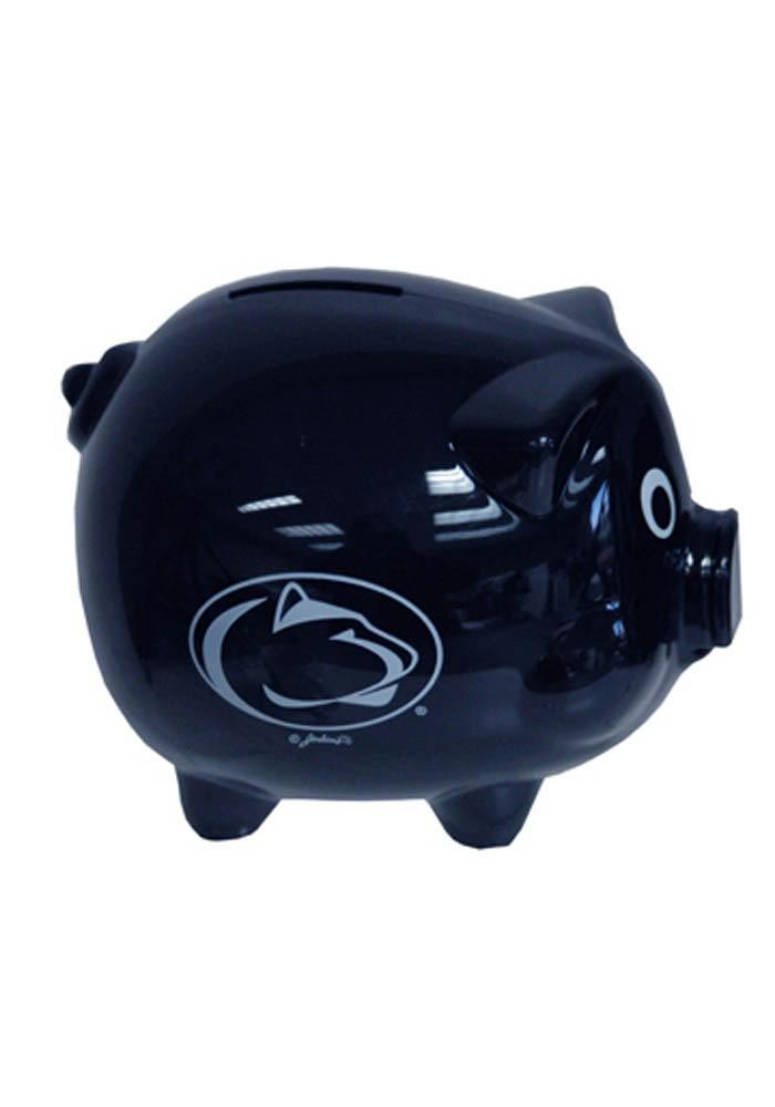 Penn State Nittany Lions Plastic Navy Piggy Bank - Image 1