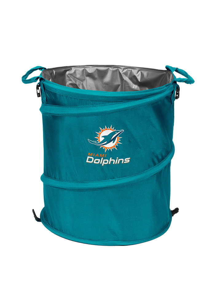 Miami Dolphins Trashcan Cooler - Image 1