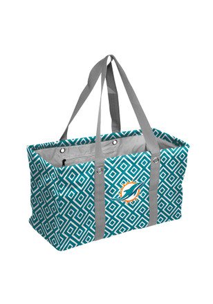 Miami Dolphins Green Picnic Caddy Lunch Tote