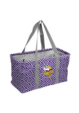 Minnesota Vikings Purple Picnic Caddy Lunch Tote