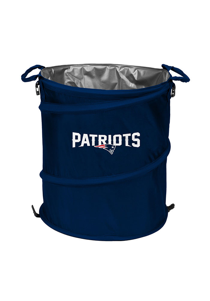 New England Patriots Trashcan Cooler - Image 1