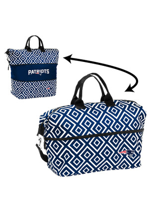 New England Patriots Red Expandable Lunch Tote
