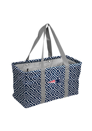 New England Patriots Red Picnic Caddy Tote