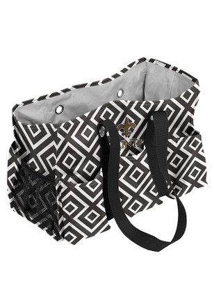 New Orleans Saints Black Junior Caddy Lunch Tote