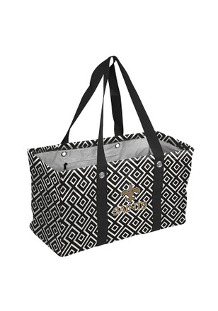 New Orleans Saints Black Picnic Caddy Lunch Tote