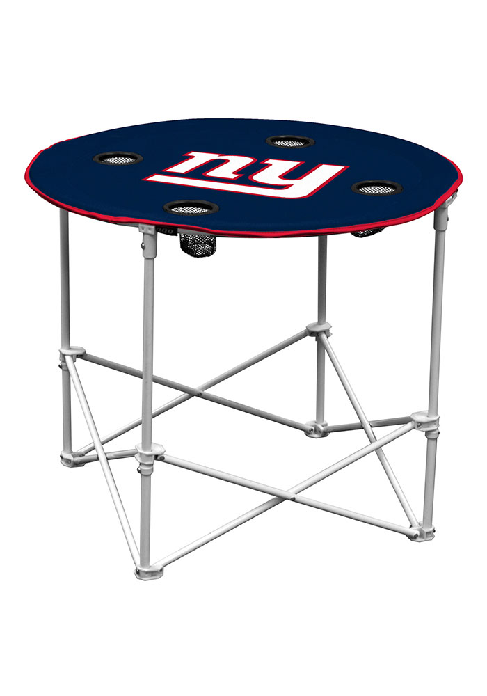 New York Giants Round Tailgate Table - Image 1