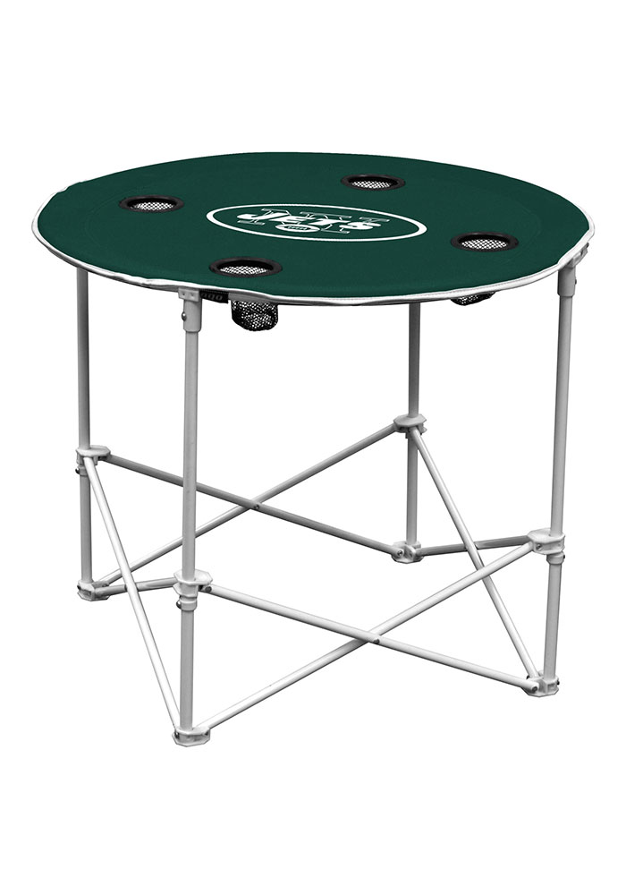 New York Jets Round Tailgate Table - Image 1