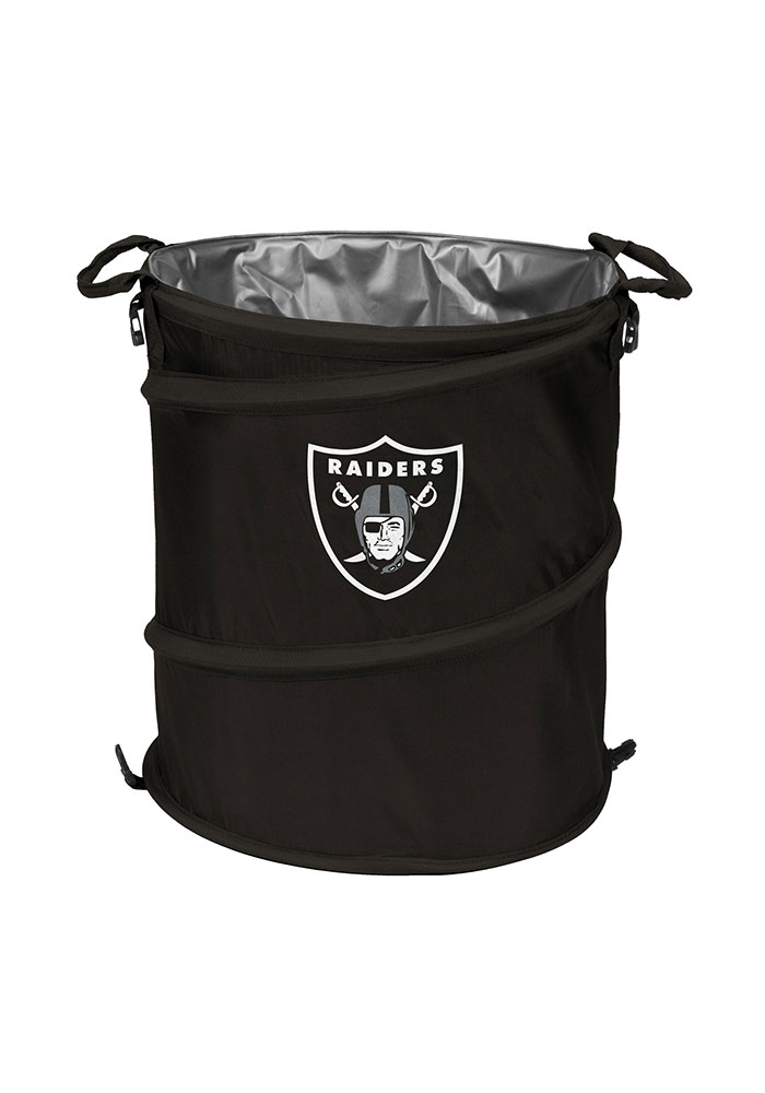 Oakland Raiders Trashcan Cooler - Image 1
