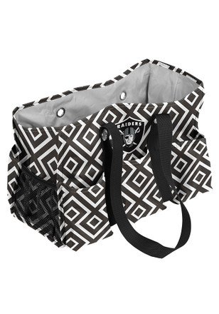 Oakland Raiders Black Junior Caddy Lunch Tote