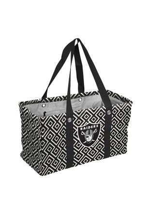 Oakland Raiders Black Picnic Caddy Lunch Tote