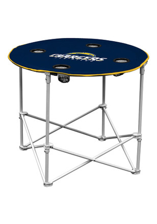 San Diego Chargers Round Tailgate Table