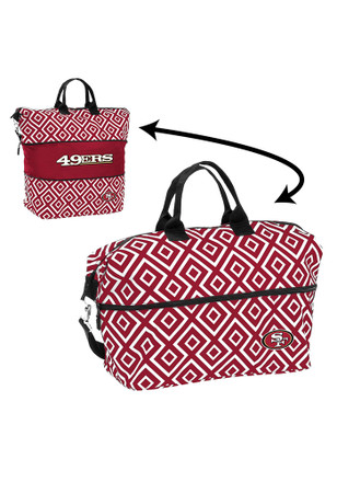 San Francisco 49ers Maroon Expandable Lunch Tote