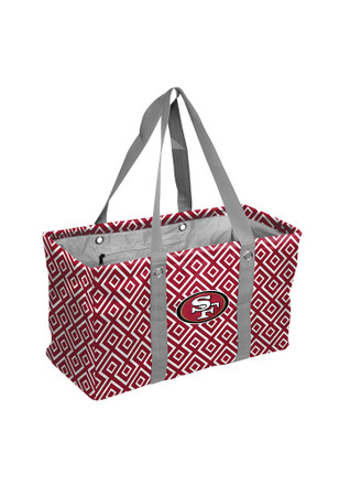 San Francisco 49ers Maroon Picnic Caddy Lunch Tote