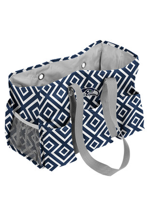 Seattle Seahawks Blue Junior Caddy Lunch Tote