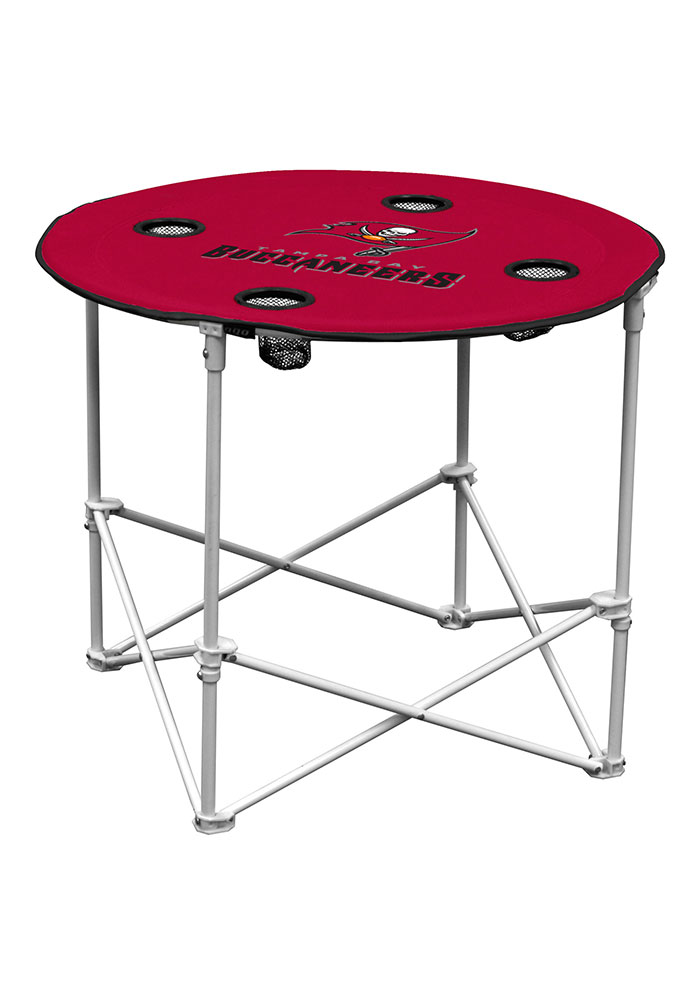 Tampa Bay Buccaneers Round Tailgate Table - Image 1