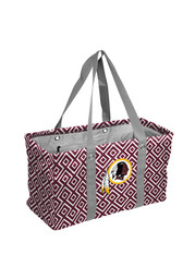 Washington Redskins Red Picnic Caddy Lunch Tote