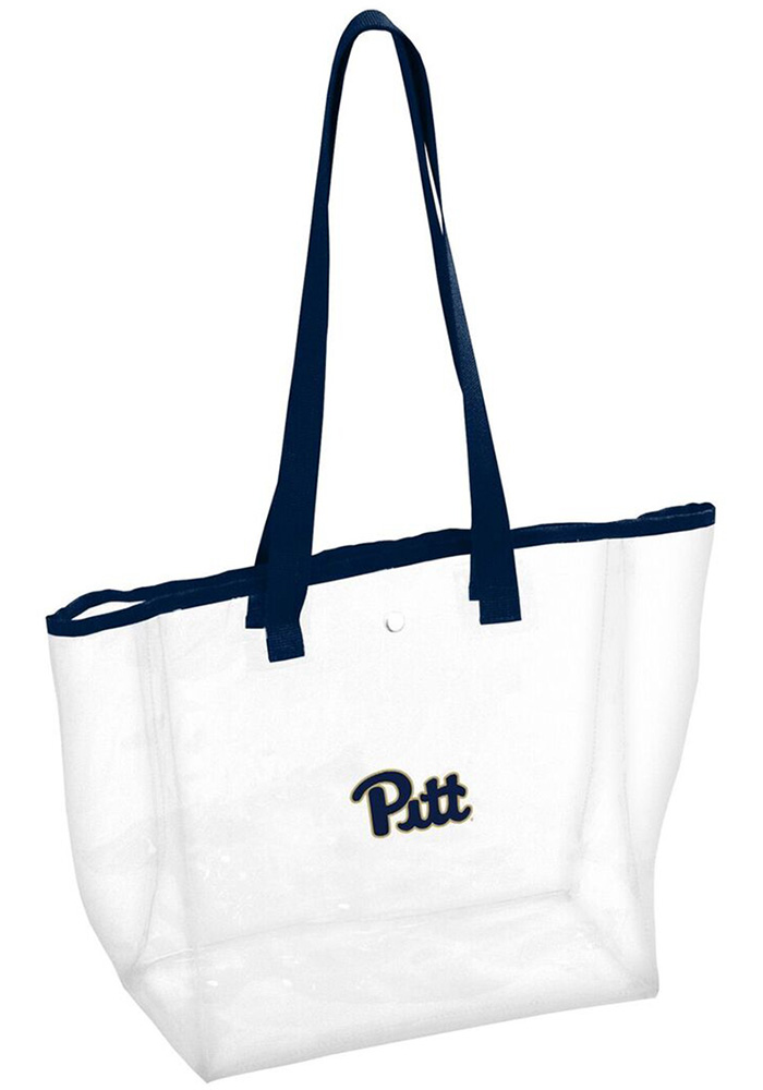 Pitt Panthers White Clear Clear Bag - Image 1