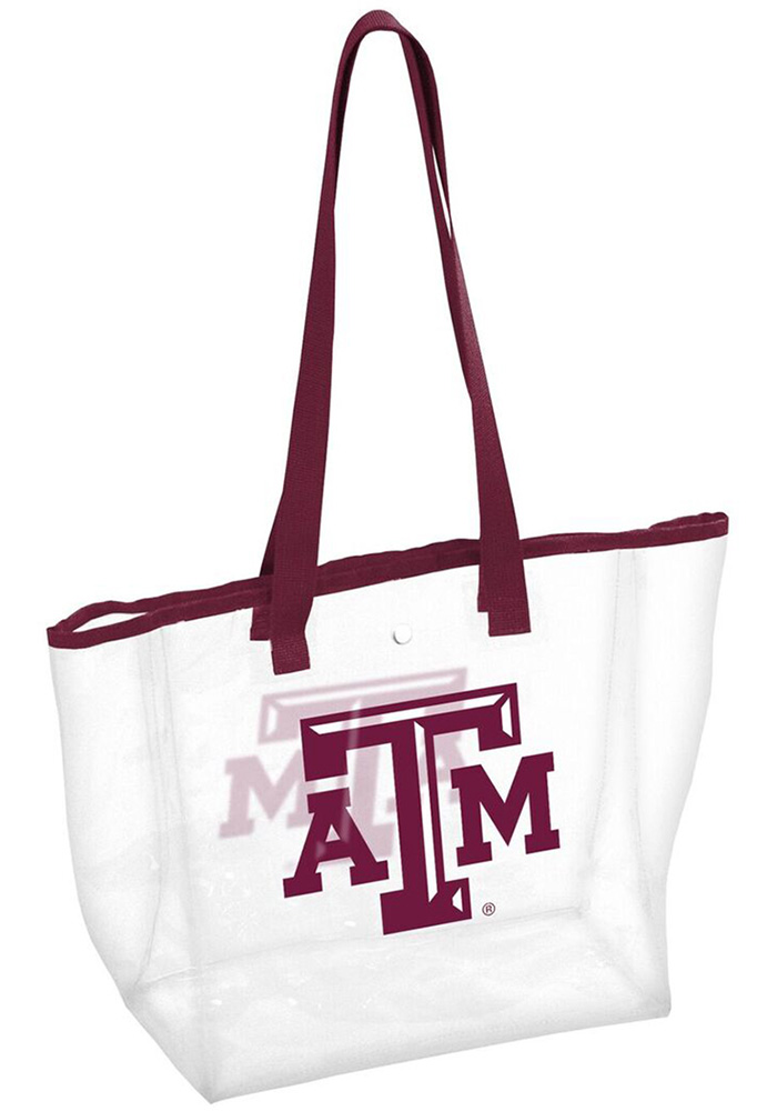 Texas A&M Aggies White Clear Clear Bag - Image 1