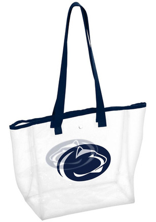 Penn State Nittany Lions White Clear Clear Bag