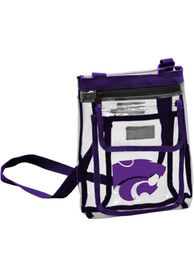 K-State Wildcats White Clear Clear Bag