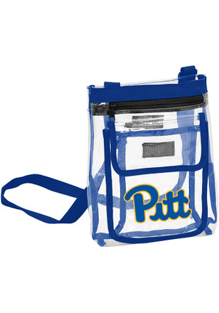 Pitt Panthers White Clear Clear Bag