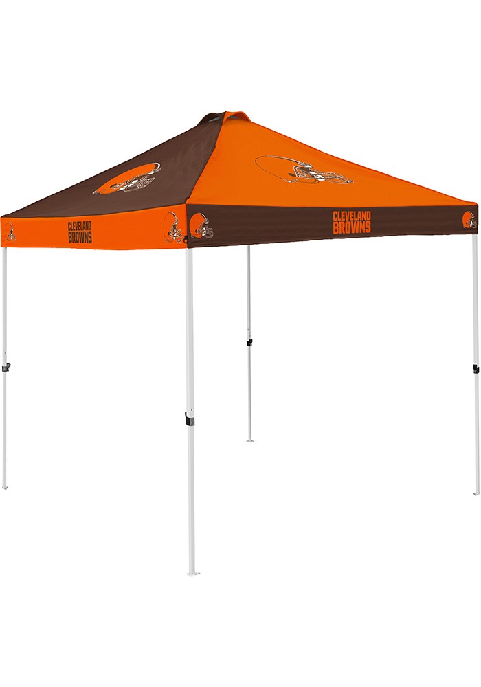 Cleveland Browns Checkerboard Tent - Image 1