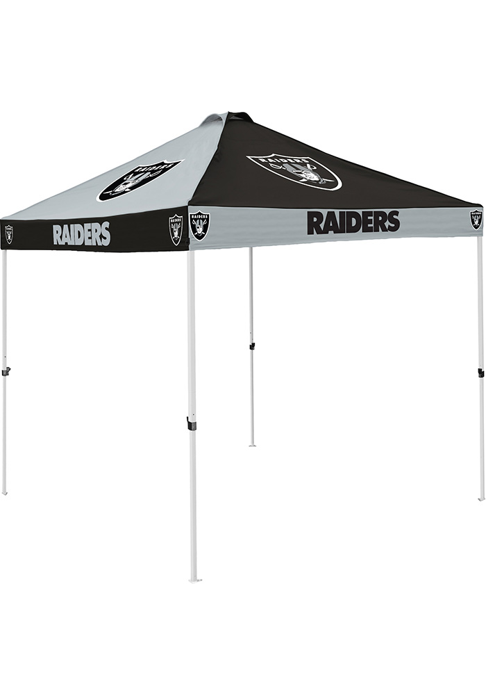 Oakland Raiders Checkerboard Tent - Image 1