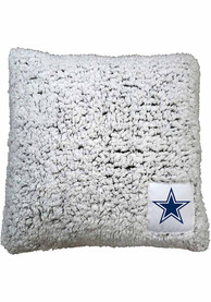 Dallas Cowboys Frosty Throw Pillow