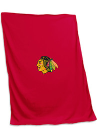 Chicago Blackhawks Screened Sweatshirt Blanket