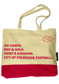 Kansas City Chiefs Favorite Things Tote - Tan