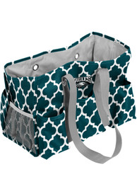 Philadelphia Eagles Quatrefoil Tote - Green