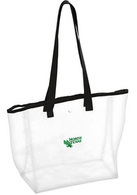 North Texas Mean Green White Stadium Approved Clear Bag