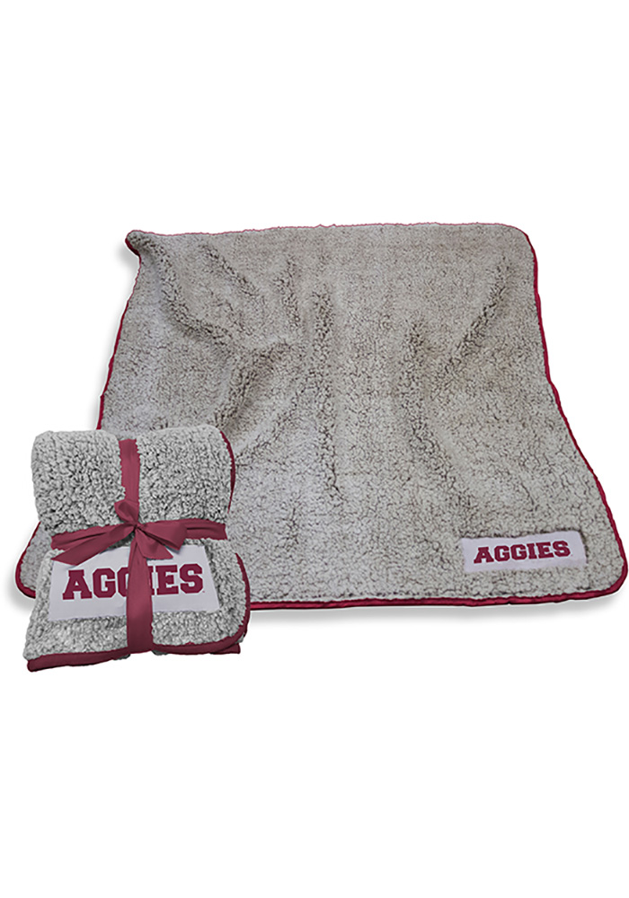 Texas A&M Aggies Frosty Fleece Blanket - Image 1