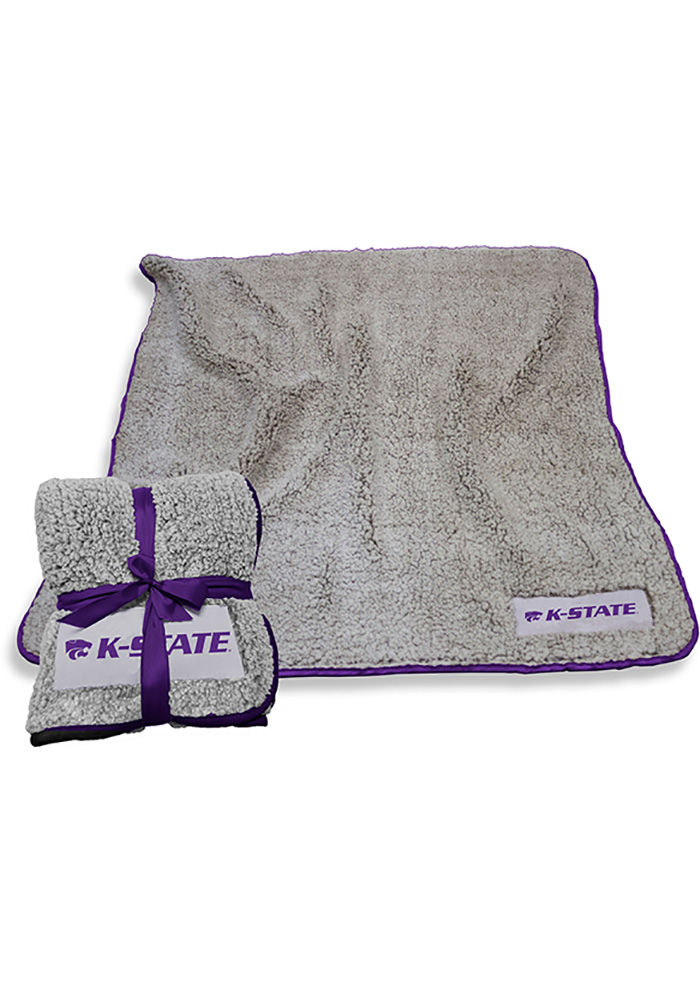 K-State Wildcats Frosty Fleece Blanket - Image 1