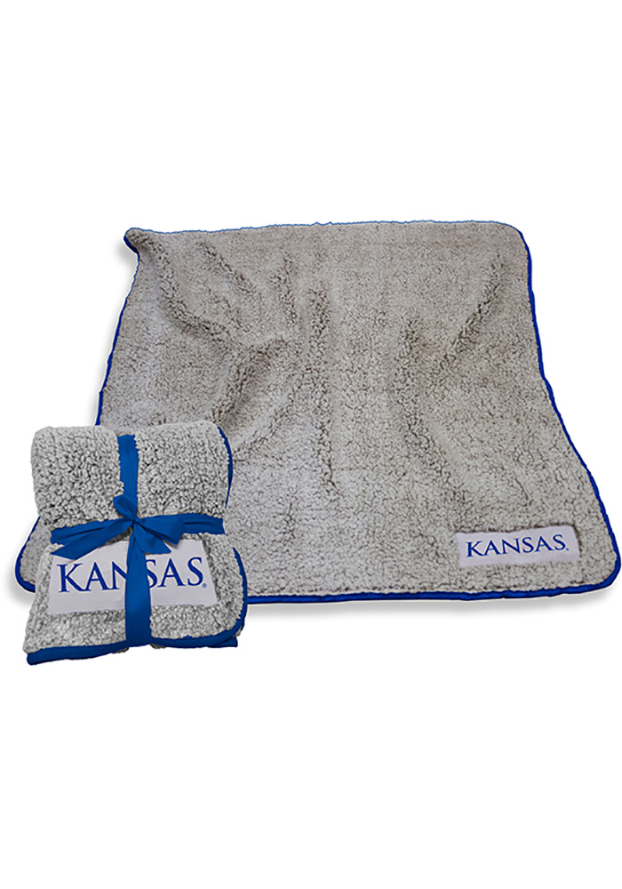 Kansas Jayhawks Frosty Fleece Blanket - Image 1