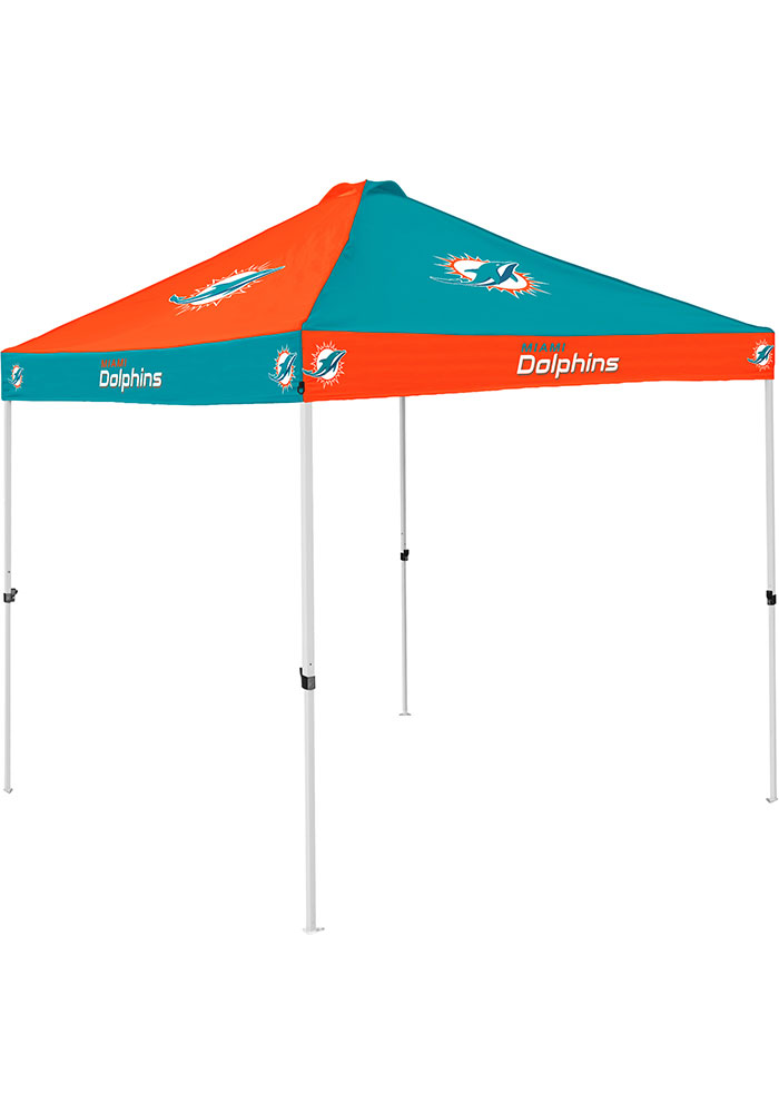 Miami Dolphins Checkerboard Tent - Image 1