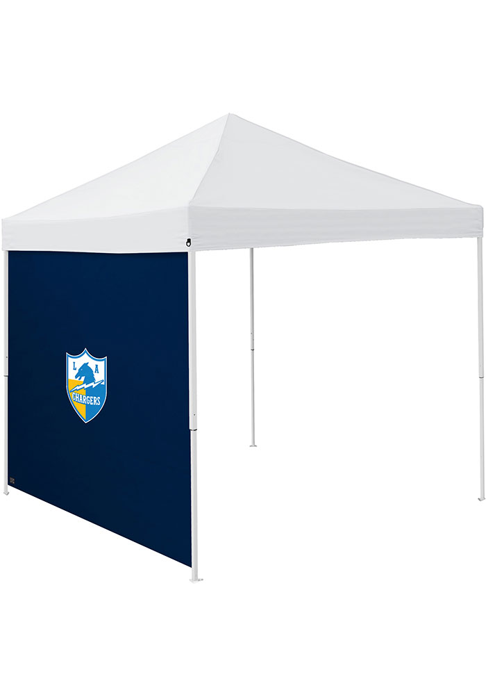 Los Angeles Chargers Navy Blue 9x9 Team Logo Tent Side Panel - Image 1