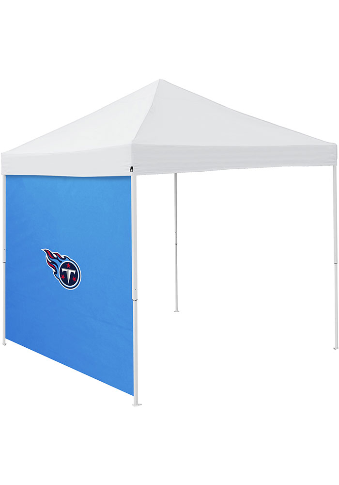 Tennessee Titans Blue 9x9 Team Logo Tent Side Panel - Image 1