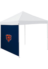 Chicago Bears Navy Blue 9x9 Team Logo Tent Side Panel