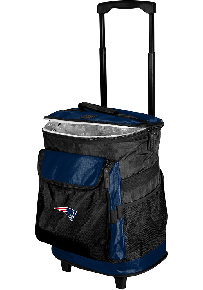New England Patriots Rolling Cooler - Image 1