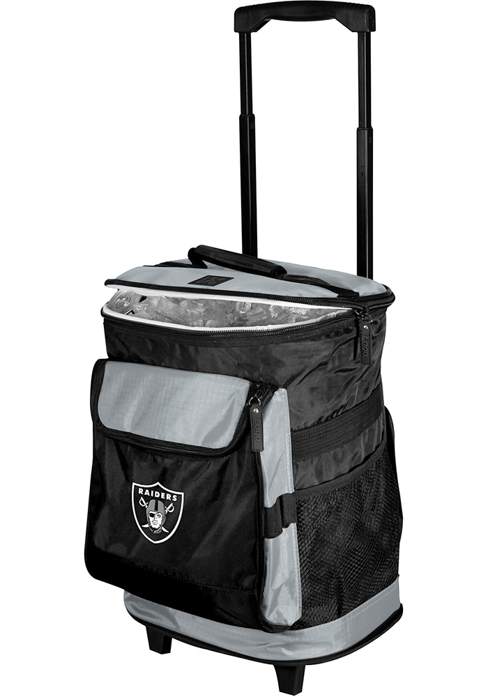 Oakland Raiders Rolling Cooler - Image 1