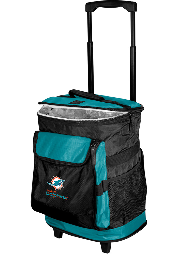 Miami Dolphins Rolling Cooler - Image 1