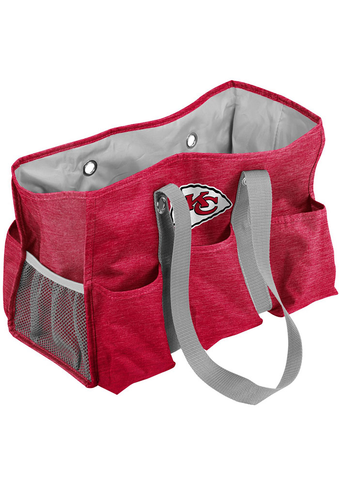 Kansas City Chiefs Red Crosshatch Tote - Image 1