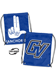 Grand Valley State Lakers Doubleheader String Bag - Blue